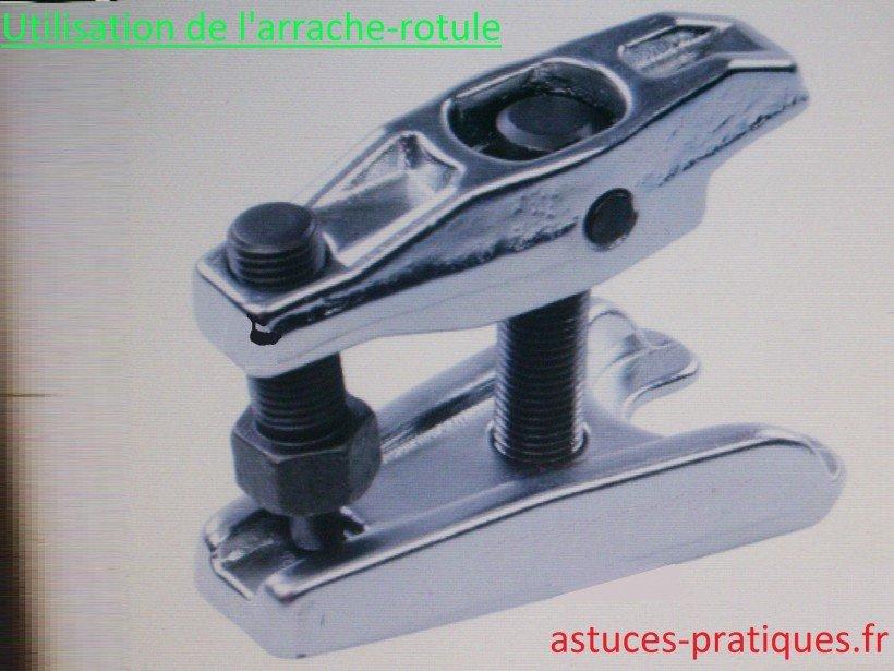 Outil (arrache-rotules)