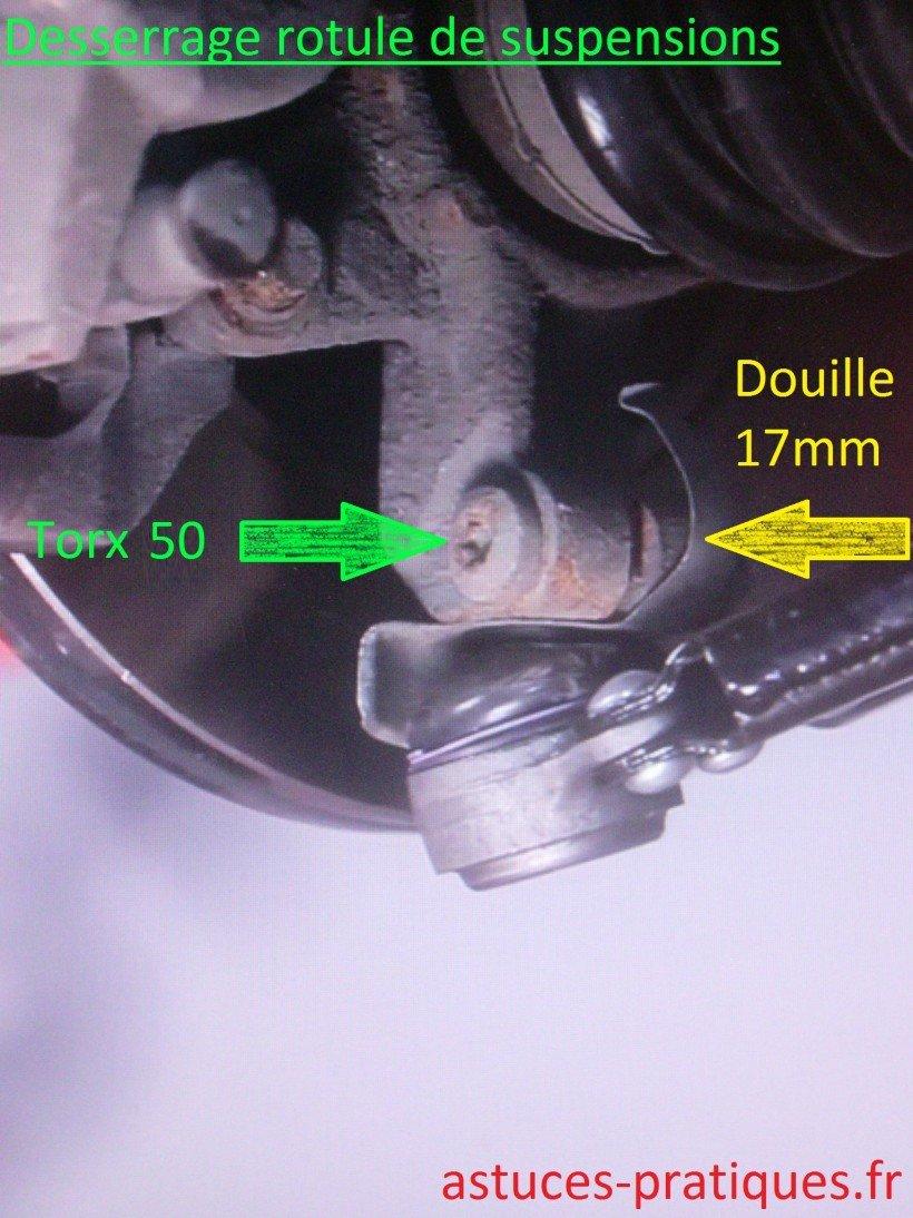 Rotule de suspensions
