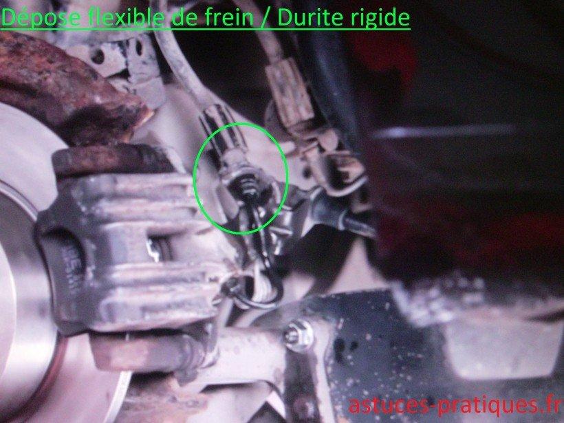 Flexible de freins / Durite rigide