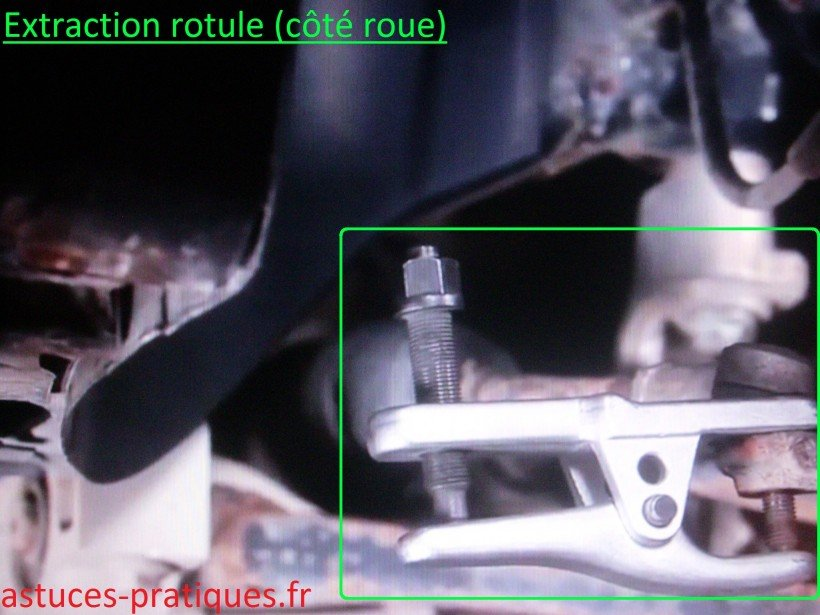 Extraction rotule