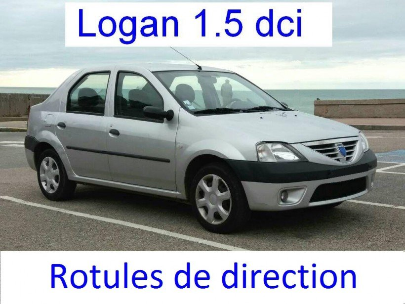 Remplacer rotules de direction sur Logan 1