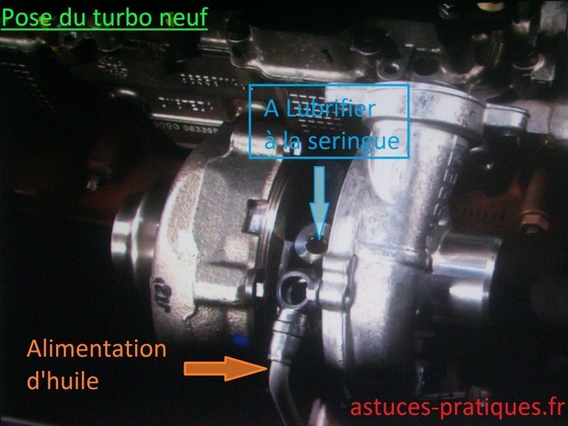 Pose turbo neuf