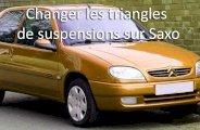 Remplacer un triangle de suspension sur Saxo