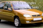 changer un triangle de suspension saxo