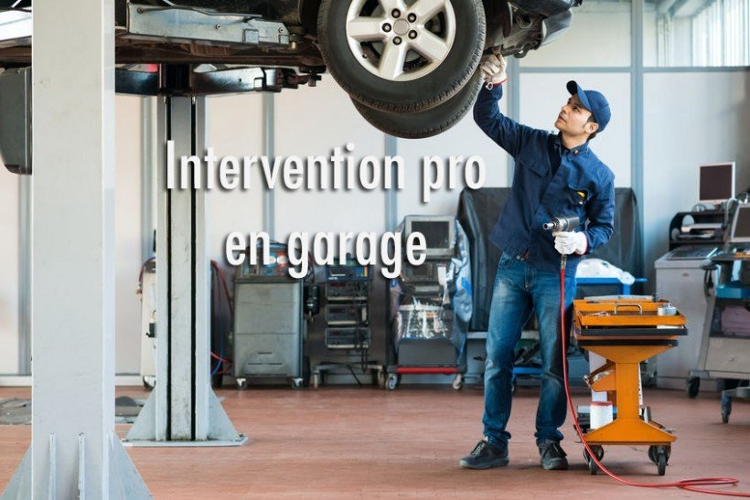 maintenance voiture en garage pro