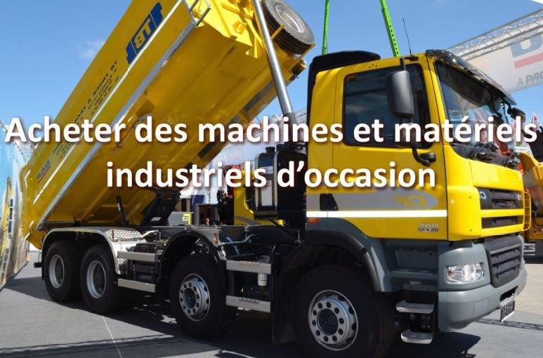 machines et materiels industriels occasion