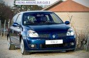 Tambours sur Clio 2 (remplacement des garnitures de frein + cylindre de roue)