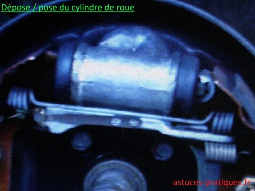 Dépose / pose du cylindre de roue