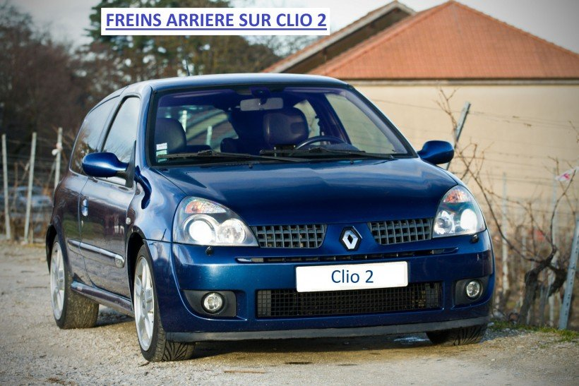 Tambours sur Clio 2