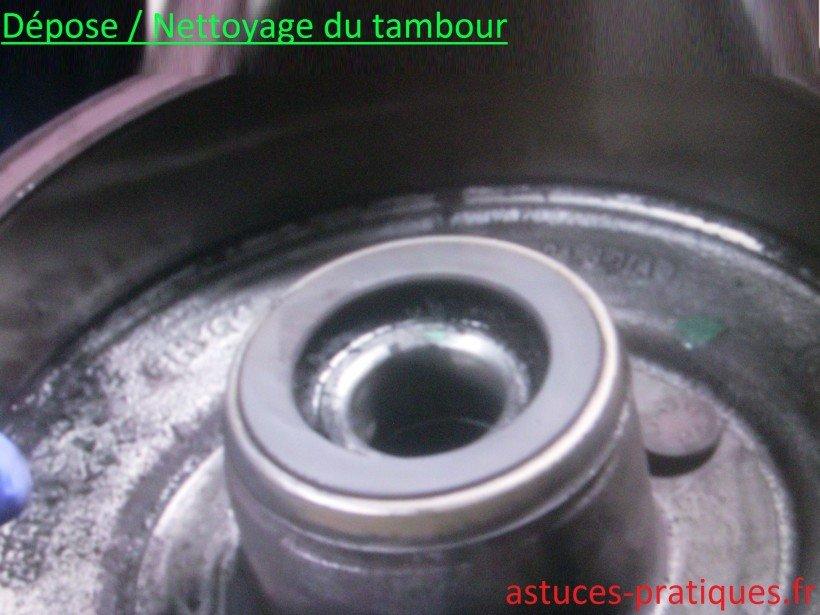 Dépose / Nettoyage tambour