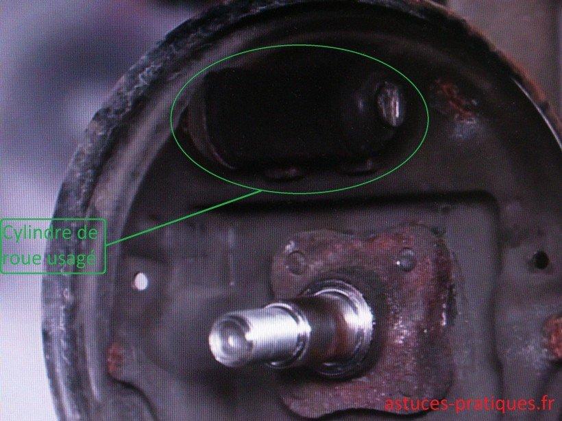 Dépose cylindre de roue