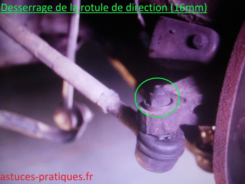 Rotule de direction