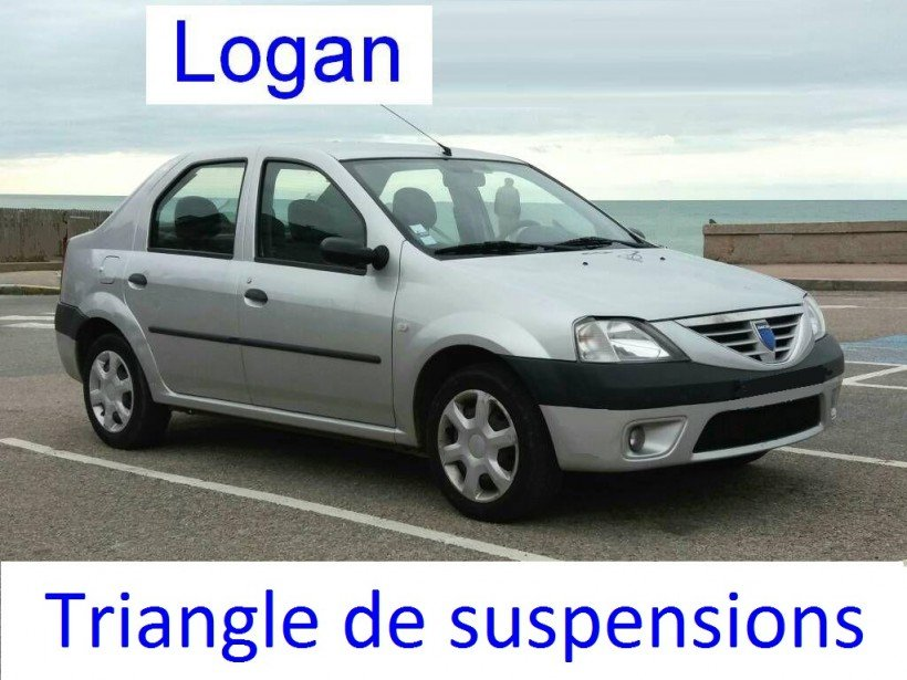 Triangles de suspensions sur Logan
