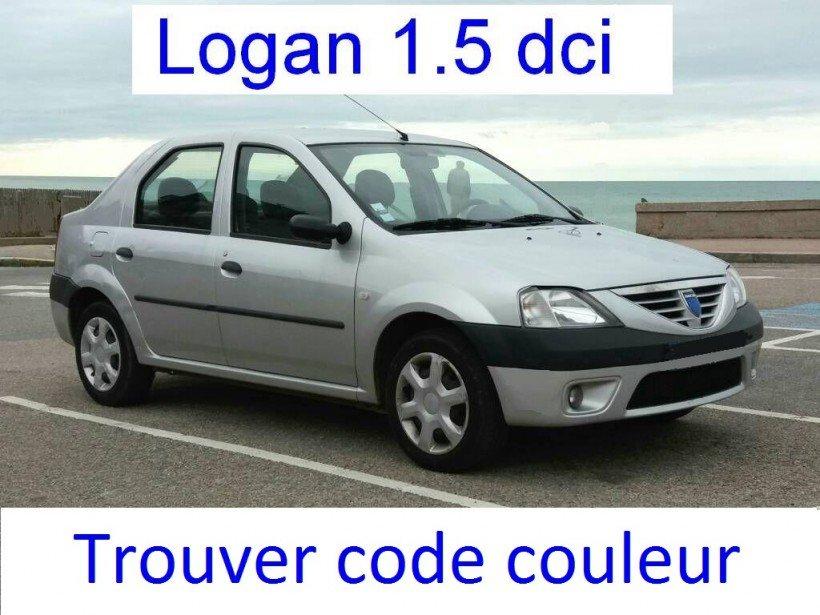 Trouver code couleur sur Logan