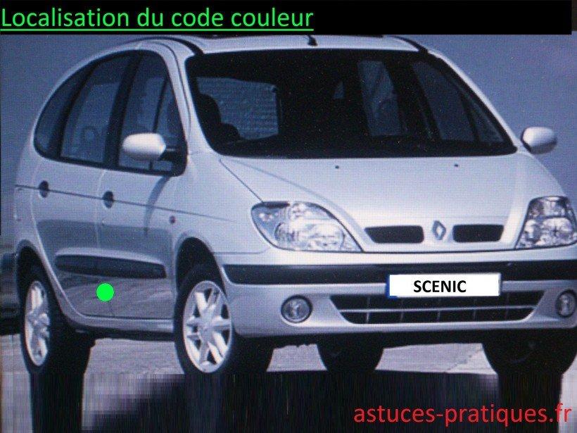 Localisation du code couleur