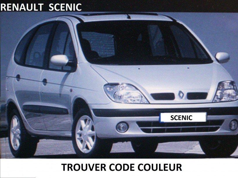 Trouver code couleur sur Scénic 1