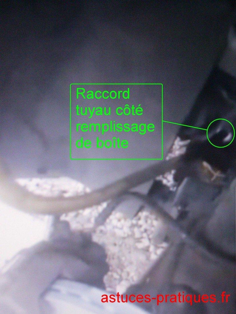 Raccordement / tuyau boîte de vitesse