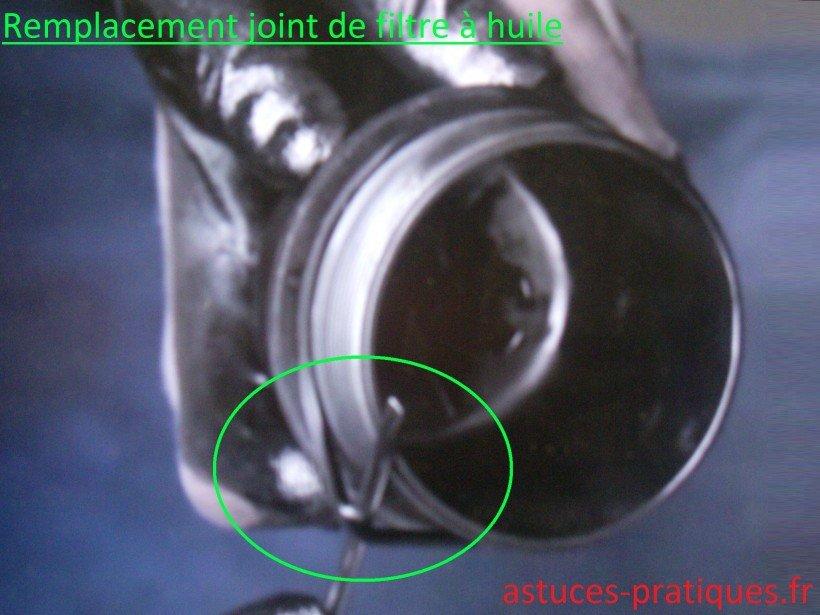 Joint de filtre à huile