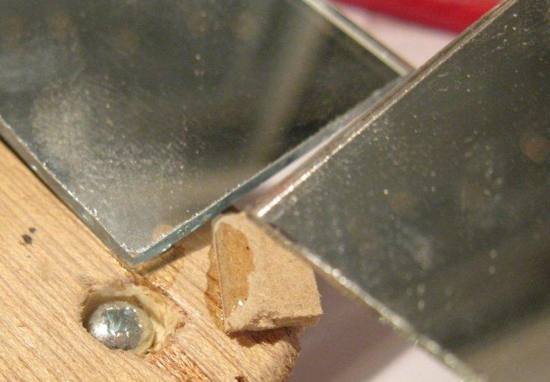 coller miroir sur bois cyanoacrylate