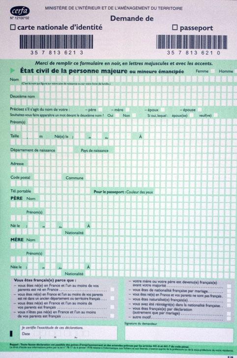 comment obtenir un passeport 1