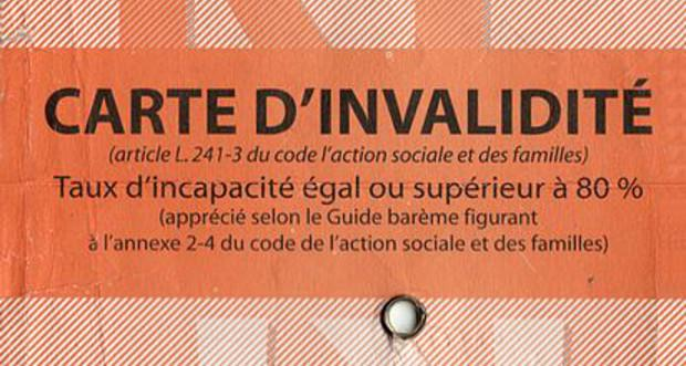 la carte d invalidite 0