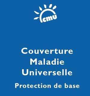 La couverture de Maladie universelle de Base (CMU)
