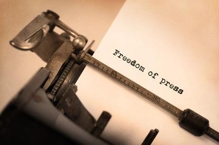 Liberté de la presse, liberté d'expression