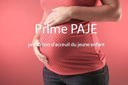 Prime de naissance (paje)