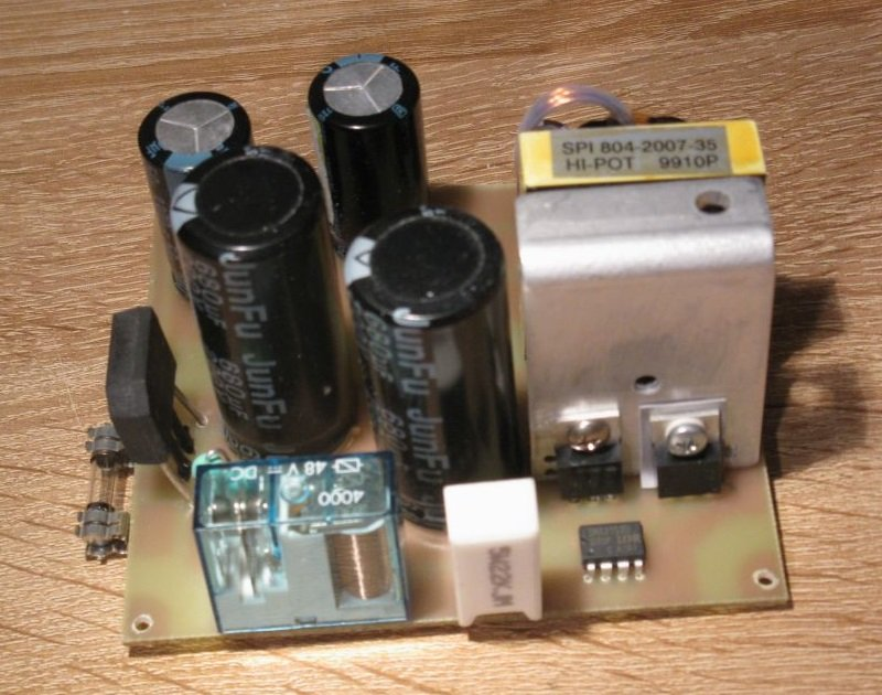 alimentation decoupage ampli audio