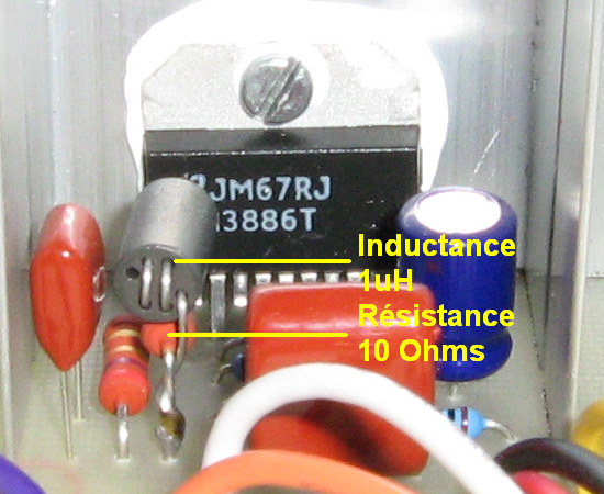 ampli audio stabilite et oscillations 6