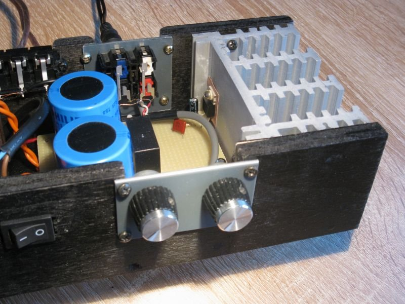 schema ampli audiophile simple