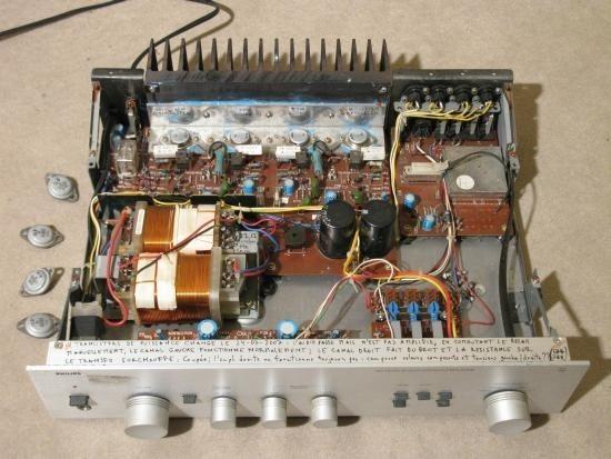 Ampli hifi vintage Philips 304