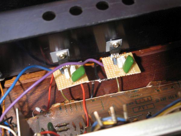 ampli pioneer sa7300 reparation 1