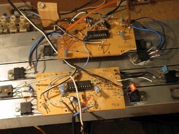 ampli sono a tda7250 2 x 200w realisation 1