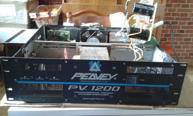 ampli sono peavez pv 1200 0