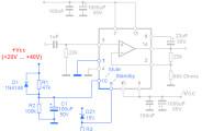 schema ampli TDA7294 mute standby