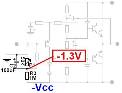 ampli ultra simple 50w a 200w schema 1