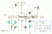 Amplificateur BF 2 Watts