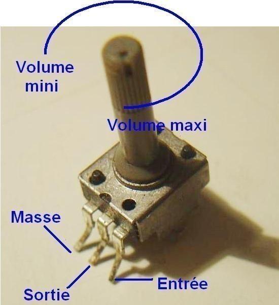 comment brancher un potentiometre 0