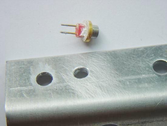 construction de laser bleu 1000mw 1w pas cher 15