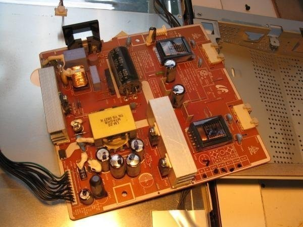 écran plat condensateur