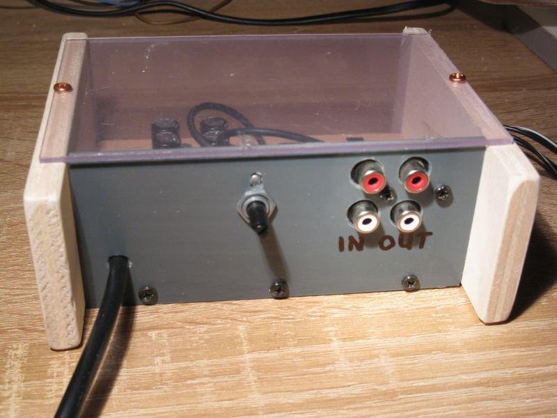 filtre actif hifi rca caisson