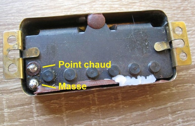 micro guitare electrique point chaud