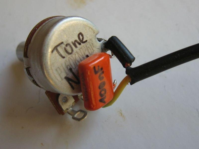 potentiomètre volume micro guitare
