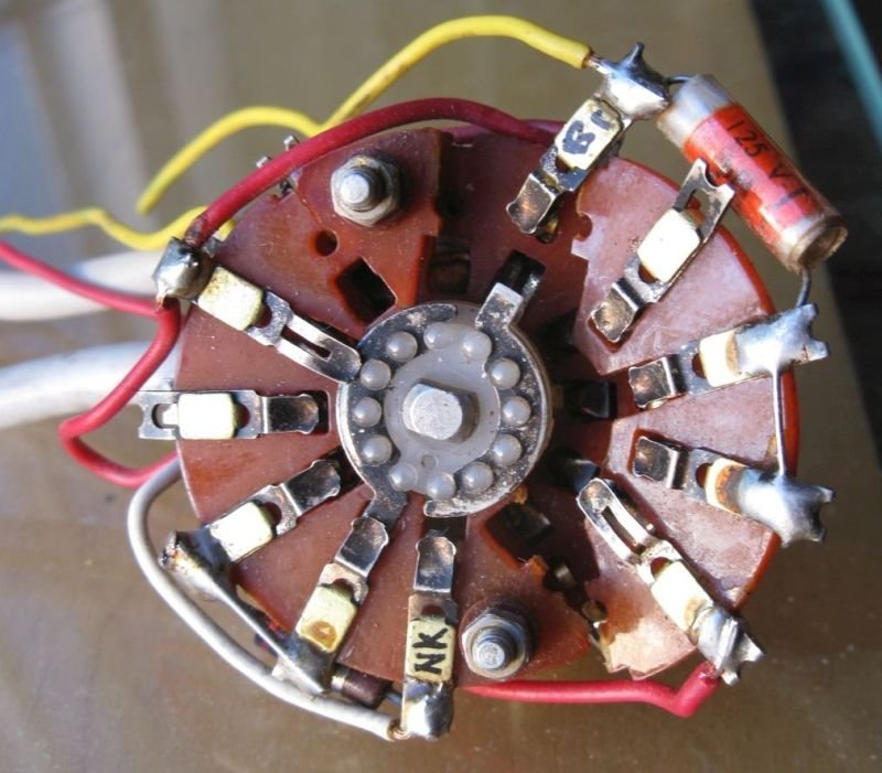 sélecteur micro guitare électrique