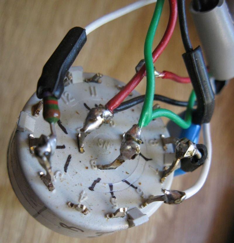 sélecteur micro guitare welson
