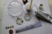 ampoule rgb led 3W E27