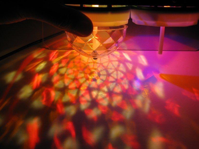 jeu lumière LED rgb pas cher