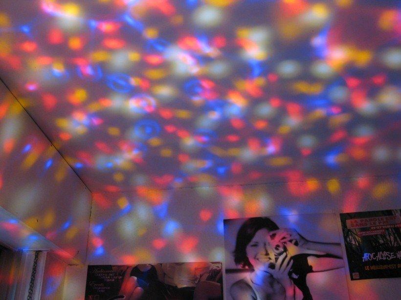 LED rgb ampoule jeu lumière disco
