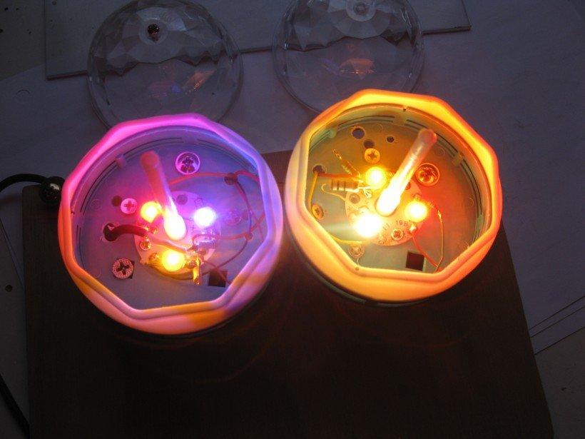 test led puissance RGB